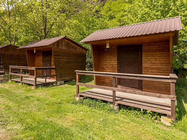 Ubytování vranovská přehrada - Camp Bítov - Chatky dvoulůžkové