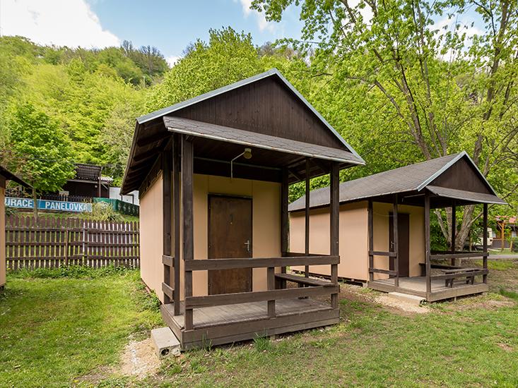 Ubytování vranovská přehrada - Camp Bítov - Chatky čtyřlůžkové (s vařičem)