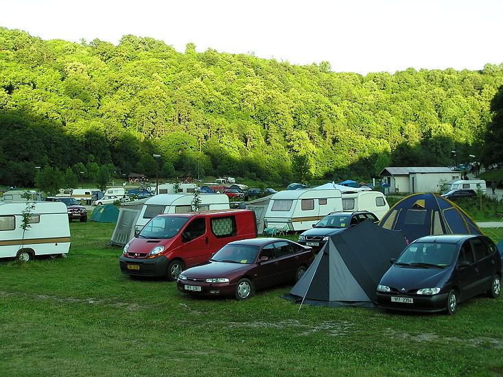 Ubytování vranovská přehrada - Camp Bítov - Ubytování ve stanech a karavanech