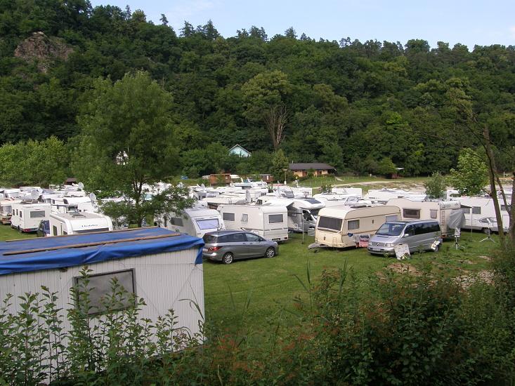 Ubytování ve stanech a karavanech - Ubytování vranovská přehrada - Camp Bítov